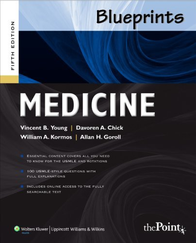 Medicine (Blueprints Series) by Vincent Young (2009-02-01)