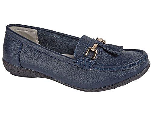 Foster Footwear , Herren Mokkasins Navy