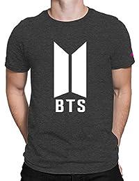PrintOctopus Kpop Half Sleeve T-Shirt For Women's And Men's | Kpop BTS T-Shirt | Round Neck Kpop T-Shirt