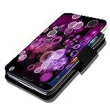Book Style Flip Handy Tasche Case Schutz Hülle Foto Schale Motiv Etui für LG L Bello - A52 Design1