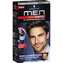 schwarzkopf men perfect gel colorant anti cheveux blancs chtain naturel 60 - Shampoing Colorant Schwarzkopf