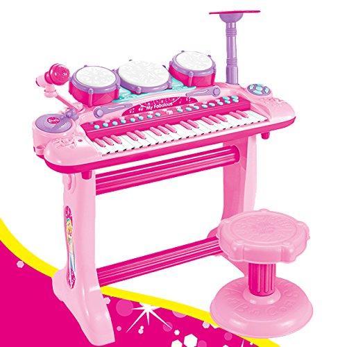 Preisvergleich Produktbild XXL Piano mit vielen Funktionen, Drums, Becken, Scratchboard und tollem Mikro