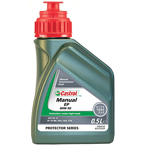 Castrol Manual, olio per cambio, EP 80 W-90, 500 ml, 21838
