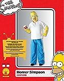 Los-Simpson-I-880653STD-Disfraz-de-Homer-talla-estndar-de-adulto