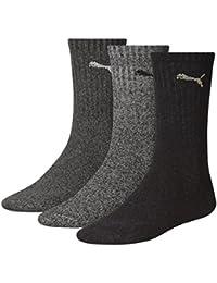 6 Paar PUMA Unisex Crew Socks Socken Sportsocken MIT FROTTEESOHLE
