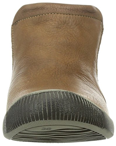 Softinos  Inge,  Damen Kurzschaft Stiefel Brown (Brown (Light Grey Sole))
