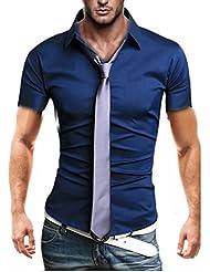 KAYHAN Original Herren Kurzarm Hemd mehrere Farben zur Auswahl Bügelleicht