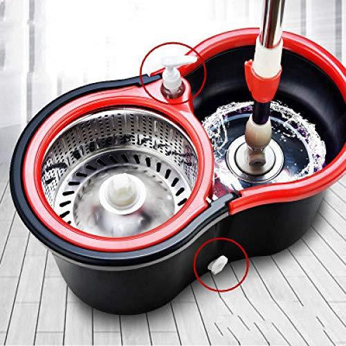 Wangchang secchiello per straccio e benna mocio con strizzatore kentucky mop e strizzatore rotante