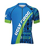 Uglyfrog Bike-T Full Zip Radsport Trikots Herren Cyling Top #H31