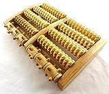 Holzfuß Massagerolle Fußmassage Fußmassage Rad