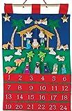 Vermont Christmas Heilige Familie Stoff Adventskalender