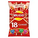 Walkers Classic Variety Multipack Crisps 18 x 25g