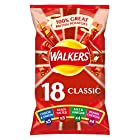 Walkers Classic Variety Multipack Crisps, 18 x 25 g