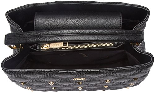 Gaudì Handbag-Linea Aurora-cm.31 x 22,50 x 11, Borsa a Mano Donna, 31 x 22.5 x 11 cm (W x H x L) Nero (Black)
