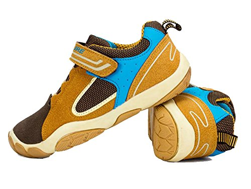 Dayiss Unisex - Kinder Jungen Schuhe Outdoor Turnschuhe Freizeitschuhe Braun