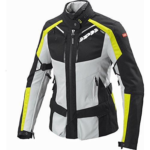 D171-486 XS - Spidi 4Season H2OUT Ladies Motorcycle Jacket XS Yellow