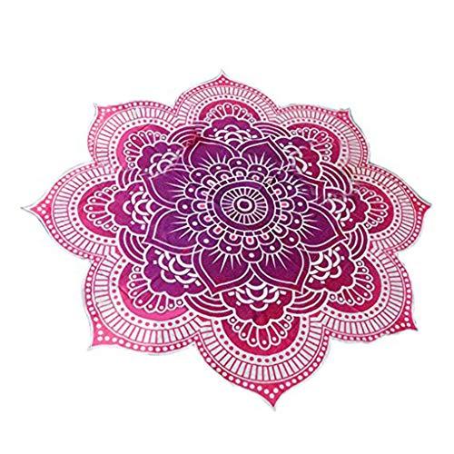 e Strand Werfen Tapestry Hippy Boho Gypsy Cotton Tischdecke Badetuch Yoga-Matte Cappa ()