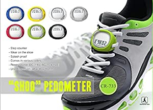 Zuwit-Walking Running Pace Step Counter Shoes Lace Pedometer