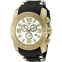 Swiss Legend 10070-YG-02 - Reloj de pulsera hombre, Silicona, color Negro