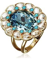 Damen-anillo de cristal Swarovski Multicolour - 503746