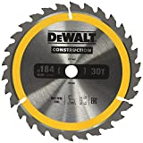 Dewalt DT1940-QZ Construction Circ Saw Blade, Yellow, 184 x 16 mm