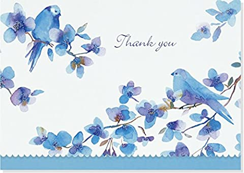 Bluebirds Thank You Notes (Stationery, Note Cards, Boxed Cards)