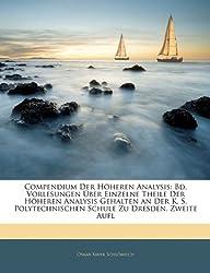 Compendium Der Höheren Analysis. Zweiter Band, Zweite Verbesserte Auflage