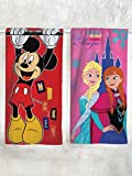 Best Disney Towel Sets - Athom Trendz Disney Mickey Mouse and Frozen 2 Review
