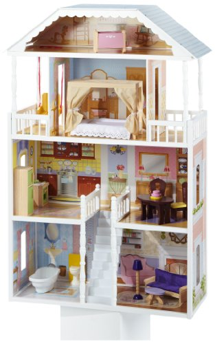 KidKraft 65023 Savannah - Casa de muñeca, diversos colores