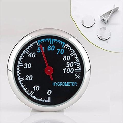 Réveil automobile/véhicule Quartz/voiture/nuit véhicules légers/Quartz horloges horloge électronique/de garniture automobile, Zhong disc - Tableau d'humidité