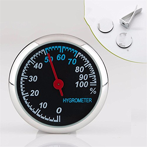 JISHUQICHEFUWU Automotive Clock/Fahrzeug Quarz/PKW/Nacht leichte Fahrzeuge Uhren Quarz/elektronische Uhr/Automotive Trim, Zhong Disc - Feuchtigkeit Tabelle -