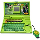 JAI VALAM Ben 10 English Learner Laptop For Kids 20 Activities (Green)