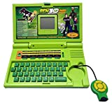 Ben 10 English Learning Computer In Green Colour-Kids Kart