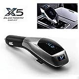 Ceuta Retails® X5 Bluetooth Car Kit MP3 Multimedia Player Wireless Bluetooth FM Transmitter