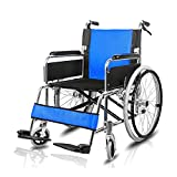 Tx Rollstuhl/älterer Rollstuhl/handliche Fahrzeuge zusammenklappbare Aluminiumlegierung bequem und Breathable mit Handbremse aufblasbarer Fester Reifen-Laufkatze