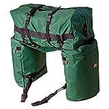 TrailMax Original Saddlebags - Bisacce e borsone portabagagli posteriori per sella - Verde
