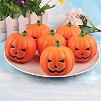 Halloween Artificial Pumpkin Fake Fruit Home House Kitchen Decoration Artificial Lifelike Simulation Mini Pumpkins Halloween house Decoration for Garden Home Decor