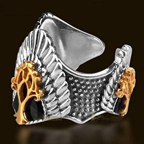 Senzans Herr der Ringe Ring die Krone des K?nigs Aragon Ring justierbar