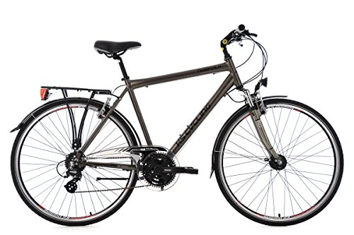 KS Cycling Herren Trekkingrad Norfolk RH 53 cm Flachlenker Fahrrad, Bronze, 28 Zoll