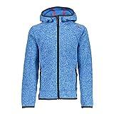 CMP Boy Fix Hood Jacket AG Regata-Bianco 116