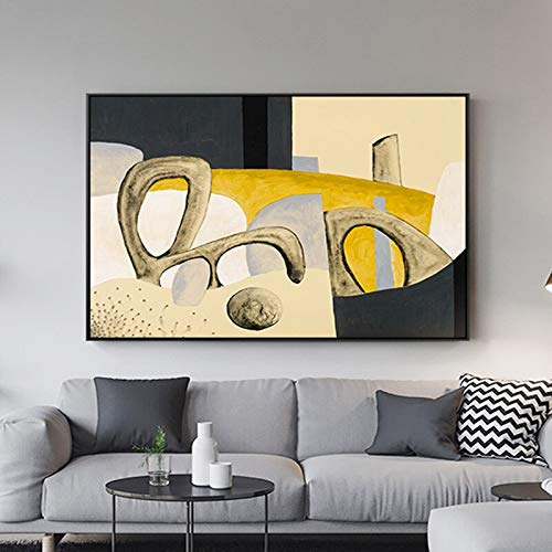 yaoxingfu Kein Rahmen Cartoon Amazing Beating Note Poster und Print Pop Leinwand ng Wandkunst für Wohnzimmer HD Quadro 40x60cm