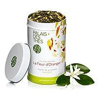 Palais Des Thés - Thé Vert À La Fleur D'Oranger Les Plaisirs Purs - Boîte Métal 100 Gr