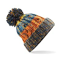 ASVP Shop Corkscrew Cable Knitted Bobble Hat Plain Boys Girls Beanie Warm Winter Pom Wooly Cap