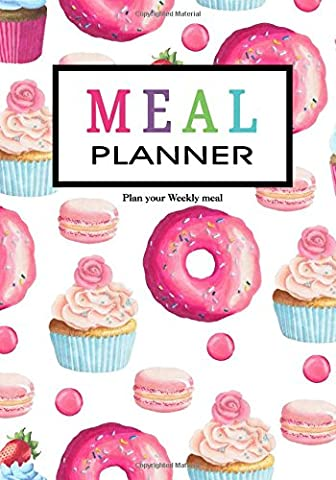 Meal Planner: Weekly Menu Planner with Grocery List [ Softback * Large (7