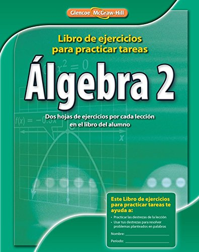 Algebra 2: Homework Practice Workbook par McGraw-Hill Education