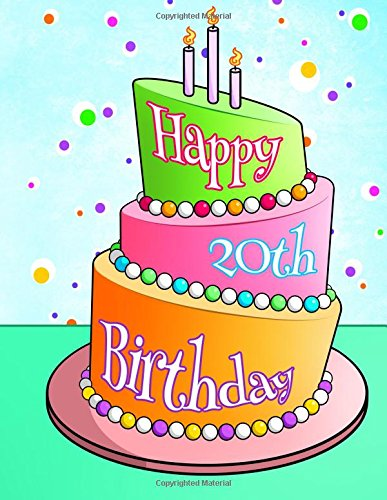 Happy 20th Birthday Discreet Internet Website Password Organizer Gifts For 20 Year Old