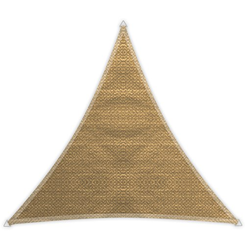 Windhager 10965 - Tenda a vela Patio (5 x 5 x 5 m), Beige