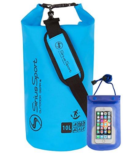 sirius-sport-waterproof-dry-bags-dry-sacks-with-waterproof-mobile-case-5l-10l-or-5l-10l-packs-light-