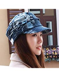 Eeayyygch Sombrero de Mujer Ms Gorra de algodón Sombrero para el Sol  Sombrero de Playa Floral f22190ccbdf