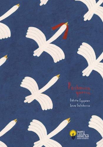 Pashmina Gorria por Ekhiñe Egiguren